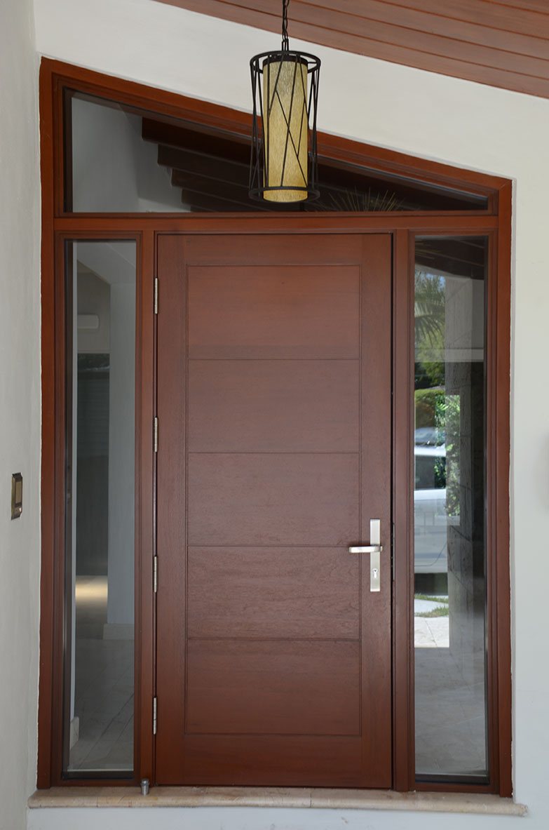 mahogany front door. RM-ECOM 110. Contemporary Doors, Mahogany Front Door S